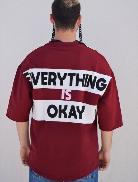 Ανδρική Μπλούζα 3/4 Μανίκι Everything is ok