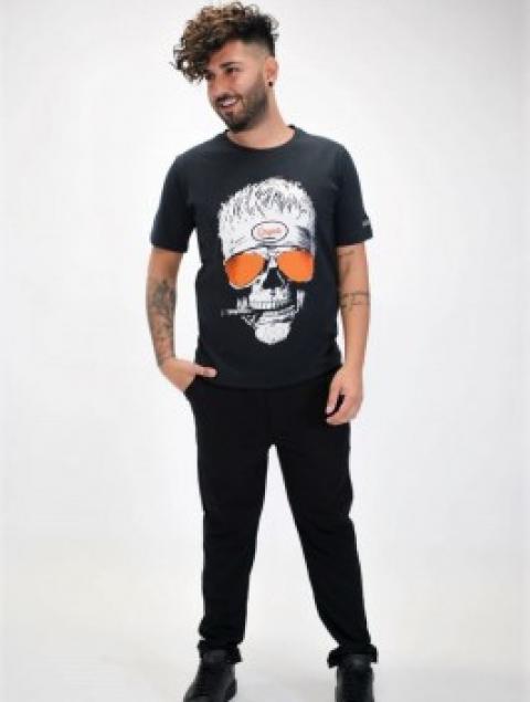 Ανδρικό T-shirt Νεκροκεφαλή Originals