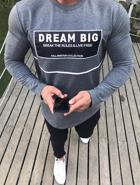 Ανδρική Μπλούζα Dream Big