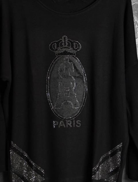 Plus Size γυναικεία μπλούζα - Paris